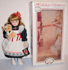 VINTAGE GENUINE PORCELAIN HOLIDAY MEMORIES WITH BABY & ME DOLL (P-4073) - 1991!