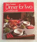 1974 Betty Crocker DINNER FOR TWO 4th Printing Hardcover Spiral Red Cover