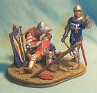Historex Pro Painted DEATH OF CHARLES D'ALBRET Agincourt 1415 Knight Henry V