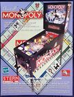 Original Hasbro Monopoly design by Pat Lawlor Pinball Machine Flyer by STERN