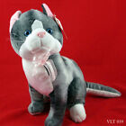 Plush Appeal Cat Gray and White with Blue Eyes Plush Stuffed Kitty Cat RARE 12