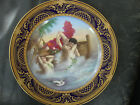 Antique KPM Royal Vienna  Porcelain   Portrait Plate Nude