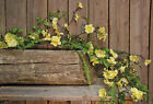 New CLOVER BLOSSOM GARLAND Flower Fern Vine Swag Primitive French Country Spring