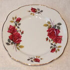 ❤ RED ROSES DUCHESS BONE CHINA Salad Plate England 8