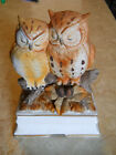 Vintage TOWLE Owl Sweethearts MUSIC BOX