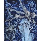 Brian Froud Fairy Queen of the Bad Faeries Ceramic Tile Brian Froud Rare Retired