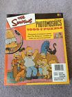 THE SIMPSONS PHOTOMOSAICS 1000 PIECE PUZZLE, NEW AND SEALED