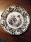 Antique Black Transferware Plate (9.25