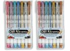 2 X 7 Metallic Gel Pens High Quality Art Scrapbook Journal Draw Color Office