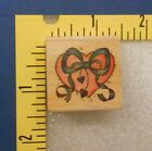 Heart with Tied Bow Mounted Rubber Stamp