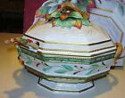 FITZ & FLOYD Winter Wonderland  Tureen with Ladle *Brand NEW in Box