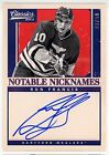 Ron Francis 2012-13 Panini Classic Signatures Notable Nicknames Auto 23 50 U1558