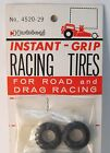 pair Hubley #4520 INSTA-GRIP RACING TIRES Road & Drag Racing slot kits toys MINT