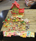 Vintage Strawberry Shortcake Berry Happy Home Garden House Doll Furniture Lot
