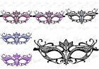 Majestic Collection Venetian Laser Cut Masquerade Mask - Made of Light Metal