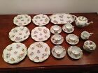 Herend Queen Victoria demi tasse service for 6 with 6 dessert plates and tray