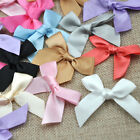 Satin Ribbon Flowers Bows Gift Craft Wedding Decoration ornament 50 200pcs A030