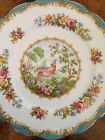 Vintage Royal Albert Chelsea Bird Blue-Bread And Butter, Salad & Luncheon Plates