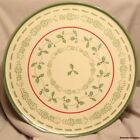 Circle of Kindness Pfaltzgraff Merriweather Christmas Cake Stand Holiday Holly