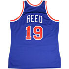 Willis Reed Signed 1972-73 New York Knicks Blue Authentic Jersey w HOF 82Insc.