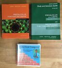 PreCalculus CHALK DUST Math 5th Edition Book solutions  DVDs READ