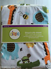 NEW Deep Pocket Fitted Sheet Baby Crib Or Toddler Bed. Owl, Alligator Elephant
