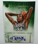 Giannis Antetokounmpo 2013 14 Panini Intrigue Autograph 14 149 Rookie AUTO card