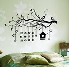 Wall Decal Tree Branch Home Sweet Home Vinyl Sticker z3631