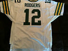 GREEN BAY PACKERS AARON RODGERS 12 WILSON AUTHENTIC NFL NEW JERSEY Adult SIZE 50