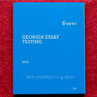 Barbri Bar Exam Review Georgia Essay Testing Summer 2014 Winter 2015