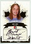 Bret Hart 2011 ITG In The Game Canadiana Autograph Auto Black Card 90 *V445