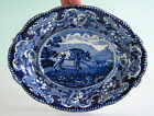Historical Staffordshire ~ SPOTTED HYENA ~ Dark Blue Enoch Wood Sporting Series