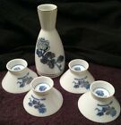 Authentic seal sake set porcelain China Japan kiku masamune vintage.