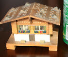 VTG~SWISS MADE~ALPINE CHALET STYLE~WINDING MUSIC BOX~WOODEN~WORKS!!