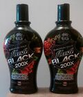 LOT OF 2,NEW EUROPEAN GOLD FLASH BLACK 200X INDOOR TANNING LOTION.