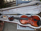 Beautiful 1985 Andrew Schroetter (German) Full Size 4/4 Violin with Bow/Hardcase