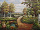 Lexington Path Original Hand Painted 24