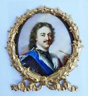 Russian tsar Peter I. Faux Ormolu.Furniture mounts/decor.