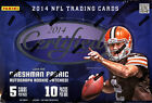 (2) BOX LOT 2014 PANINI CERTIFIED FOOTBALL SEALED HOBBY BOXES FREE SHIP