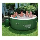 New Coleman 4 Person Lay-Z Spa Inflatable Hot Tub Spa Portable Outdoor Patio