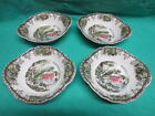 Johnson Bros Friendly Village - 4 Lugged Soup Cereal Bowls