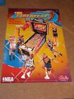 1997 BALLY NBA FASTBREAK PINBALL POSTER W/ 2 FLYERS