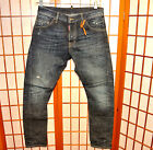 DSQUARED2 KENNY TWIST DUNGAREE LEATHER DISTRESSED VINTAGE JEANS PANT 30 32 46