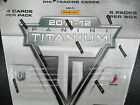 2011-12 PANINI TITANIUM HOCKEY HOBBY 8 BOX SEALED CASE