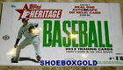 2013 TOPPS HERITAGE BASEBALL, Factory Sealed HOBBY Box, In Stock Ready to Ship!