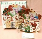 Fitz and Floyd Holiday Elf Canape Plate NEW in Box