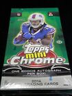 2014 Topps Mini Chrome Football Hobby Box Factory Sealed