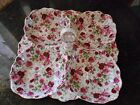 IMPERIAL ITALIAN BY ANTONIO 4 COMPARTMENT SERVING DISH CANDYROSE FLORAL DESIGN