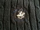 Men's Beverly Hills Polo Club Ribbed Knit Pullover Sweater Black~size L~V-neck