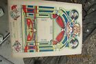 Punch and Judy Theater Paper Cut out Mayfair Novelty Co. N.Y.